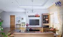 Phòng khách gỗ tự nhiên Óc Chó HA-0421