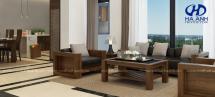 Phòng khách gỗ tự nhiên Óc Chó HA-0423