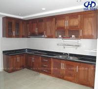 Tủ bếp gỗ tự nhiên HA-30512