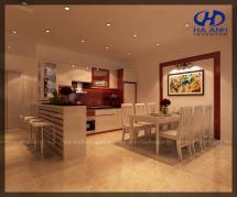 Tủ bếp công nghiệp HA-30111