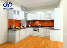 Tủ bếp công nghiệp HA-30132