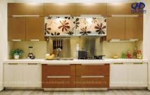 Tủ bếp gỗ công nghiệp HA-30119