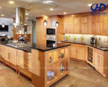 Tủ bếp gỗ tự nhiên HA-30511
