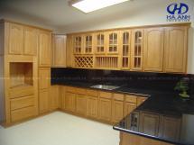 Tủ bếp gỗ tự nhiên HA-30513