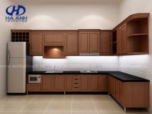 Tủ bếp gỗ tự nhiên HA-30514