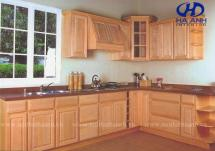 Tủ bếp gỗ tự nhiên HA-30518