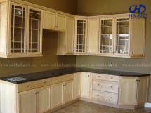Tủ bếp gỗ tự nhiên HA-30519