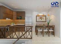 Tủ bếp gỗ tự nhiên HA-30520