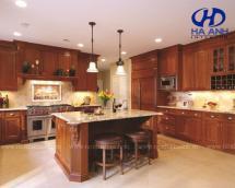 Tủ bếp gỗ tự nhiên HA-30527