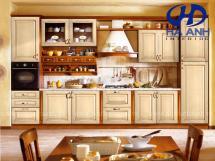 Tủ bếp gỗ tự nhiên HA-30529