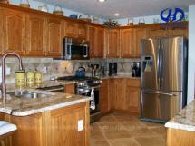 Tủ bếp gỗ tự nhiên HA-30531