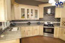 Tủ bếp gỗ tự nhiên HA-30532