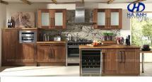 Tủ bếp gỗ tự nhiên HA-30534