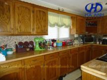 Tủ bếp gỗ tự nhiên HA-30535