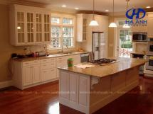 Tủ bếp gỗ tự nhiên HA-30536