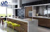 Tủ bếp laminate HA-30422