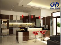 Tủ bếp laminate HA-30425