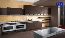 Tủ bếp laminate HA-30430