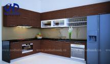 Tủ bếp laminate HA-30436