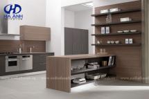 Tủ bếp laminate HA-30438