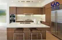 Tủ bếp veneer HA-30218