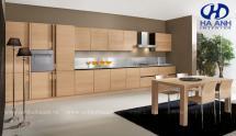Tủ bếp veneer HA-30223