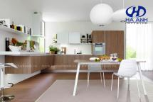 Tủ bếp veneer HA-30227