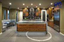 Tủ bếp veneer HA-30230