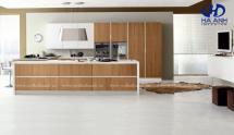 Tủ bếp veneer HA-30232