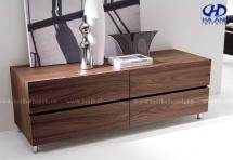Kệ trang trí gỗ tự nhiên óc chó HA-0711