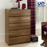 Kệ trang trí gỗ tự nhiên óc chó HA-0712