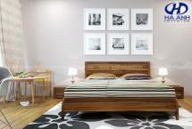 Phòng ngủ gỗ tự nhiên óc chó HAT-0212