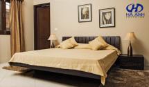 Phòng ngủ gỗ tự nhiên óc chó HAT-0214