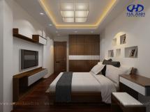 Phòng ngủ veneer óc chó HAV-0212
