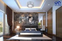 Phòng ngủ veneer óc chó HAV-0213