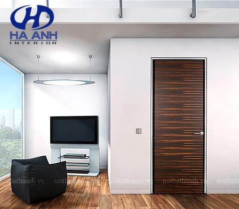 Cửa gỗ laminate HA-10218-1