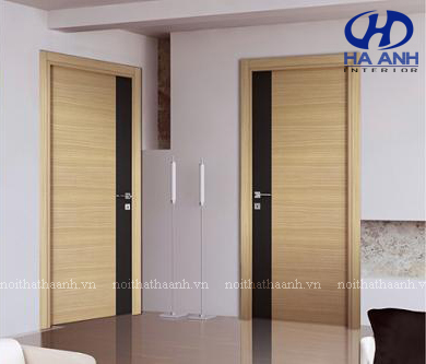 Cửa gỗ laminate HA-10221-1