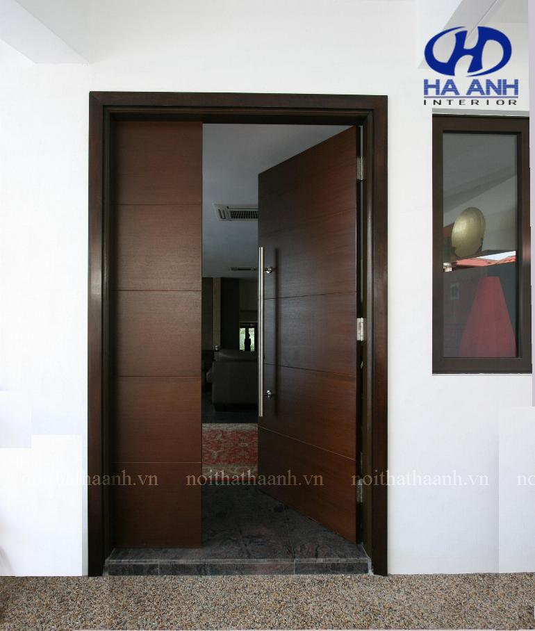 Cửa gỗ laminate HA-10224-1