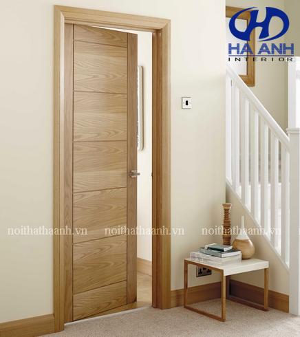 Cửa gỗ veneer HA-10117-1