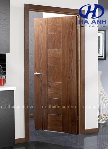 Cửa gỗ veneer HA-10118-1