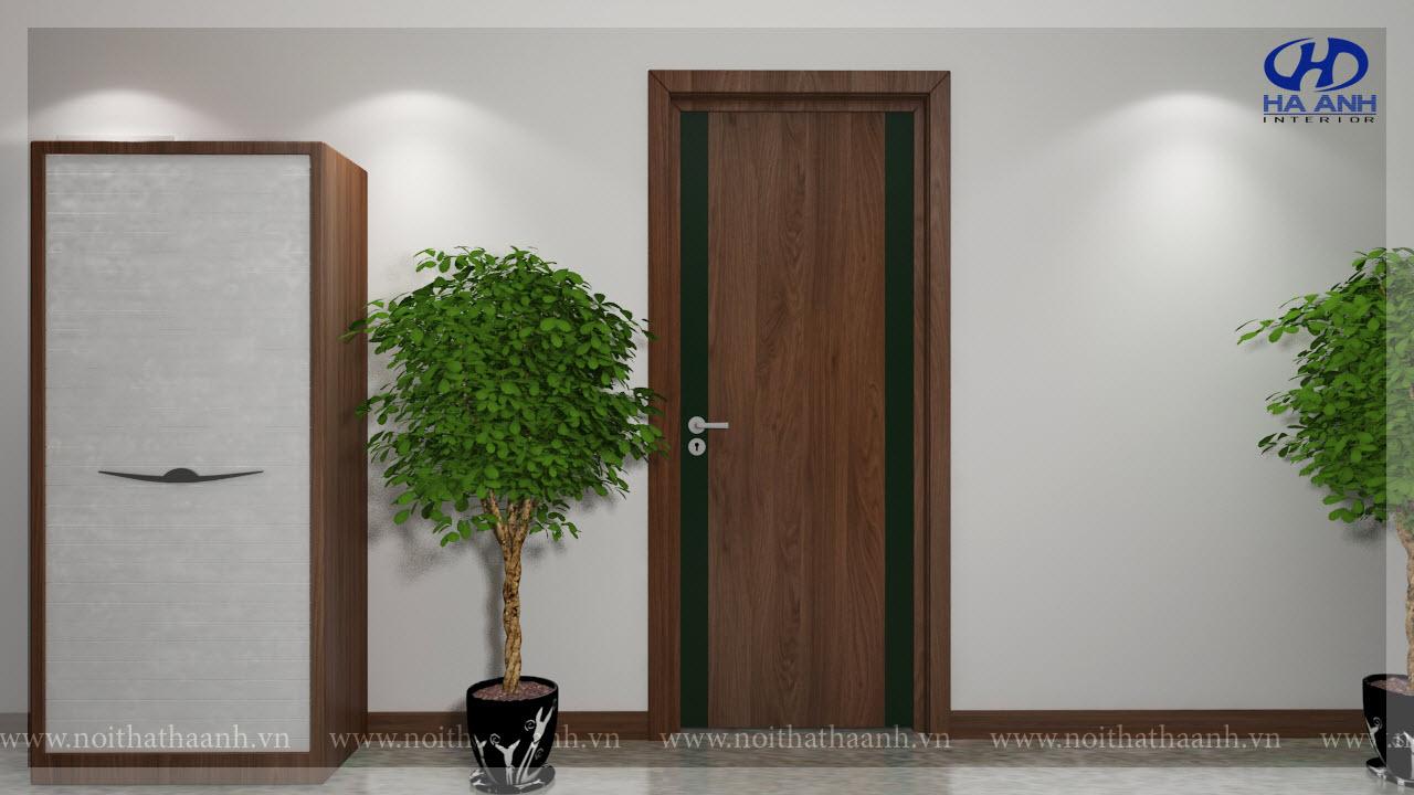 Cửa gỗ Laminate HA-1024