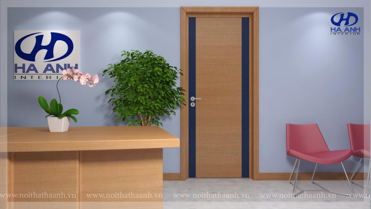 Cửa gỗ Laminate HA-1025-1