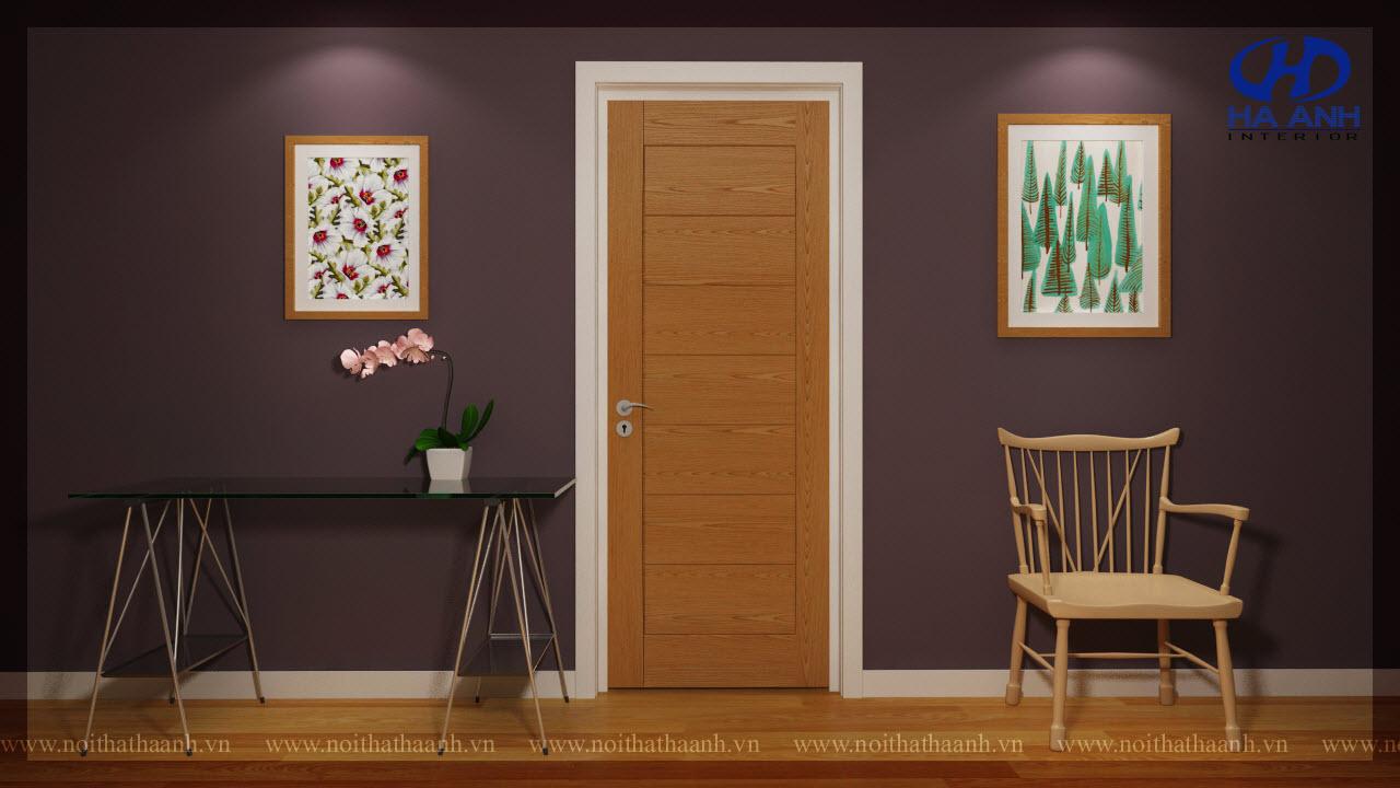 Cửa gỗ Veneer HA-1013-1