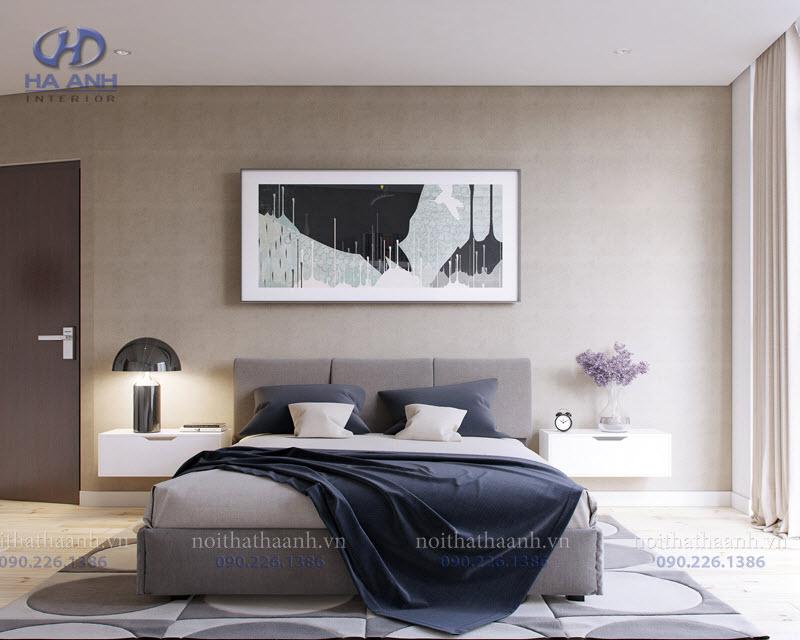 Giường ngủ laminate HA-8302