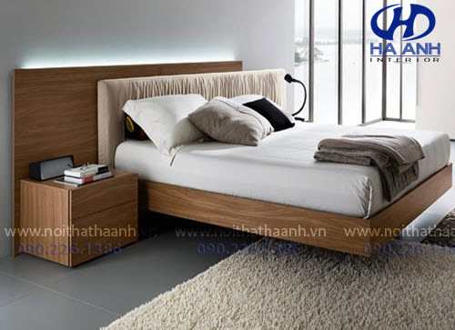 Giường ngủ laminate HA-8312