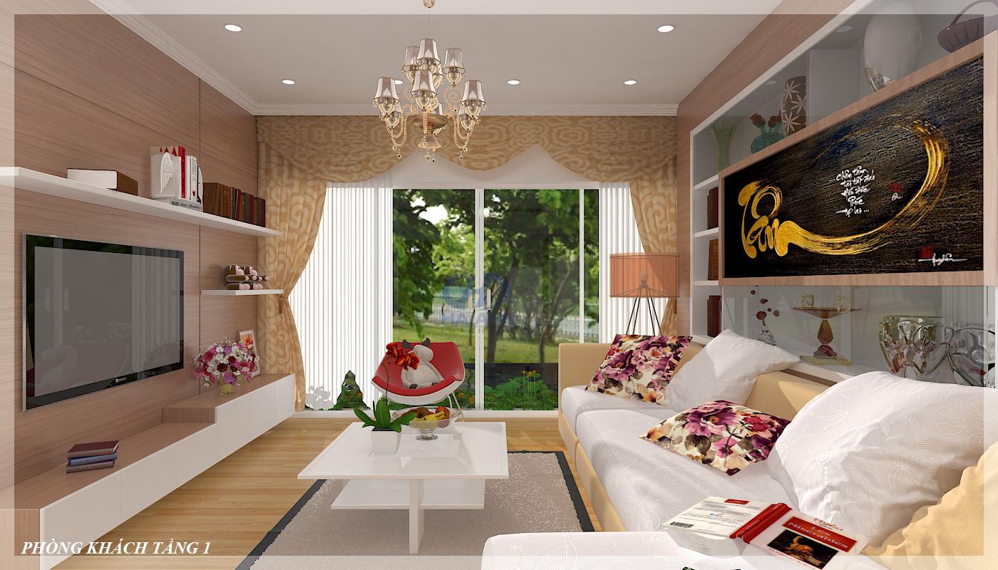 Phòng khách laminate HA-8101-1