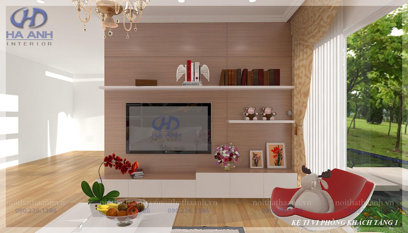 Phòng khách laminate HA-8101-2