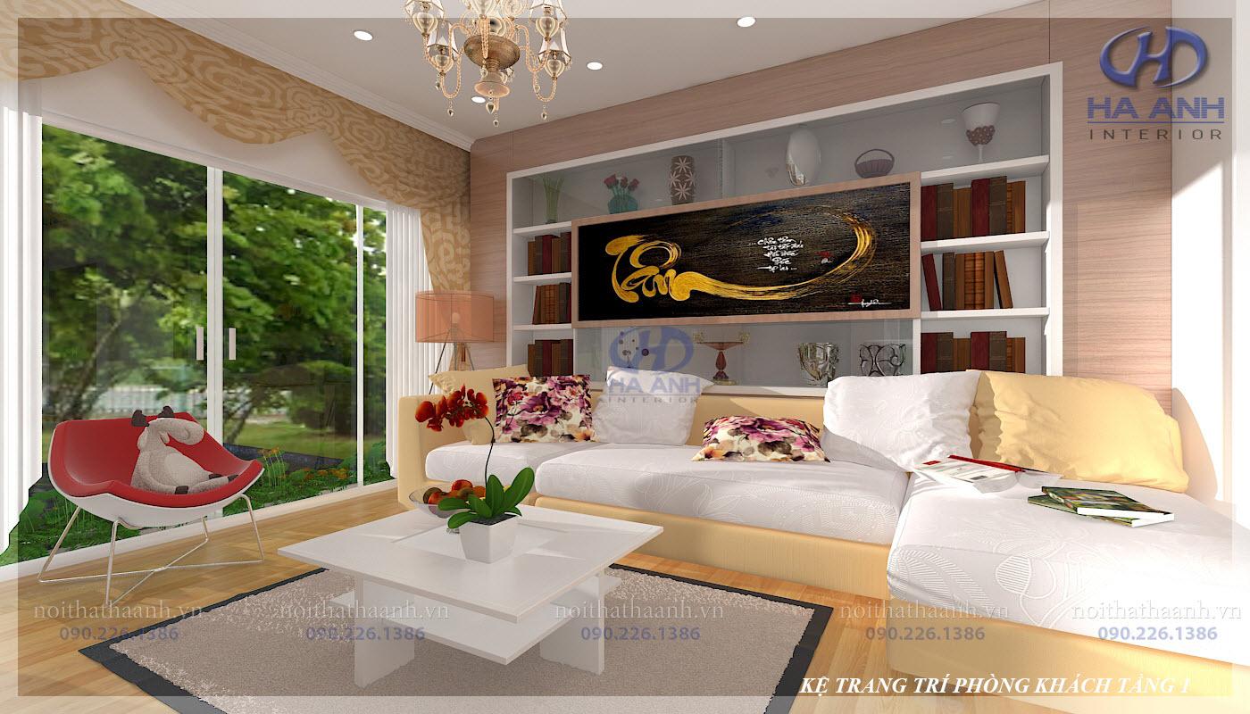 Phòng khách laminate HA-8101-3