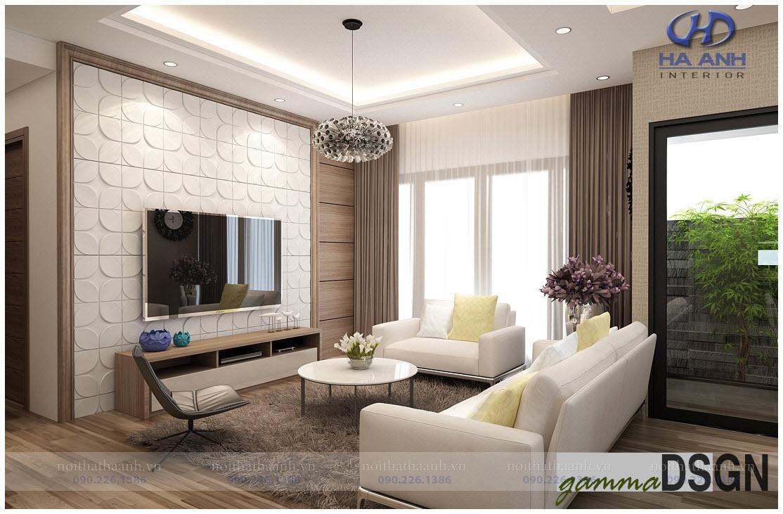 Phòng khách laminate HA-8103