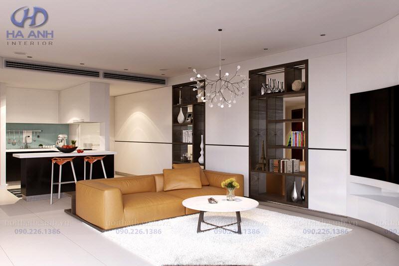 Phòng khách laminate HA-8104-3